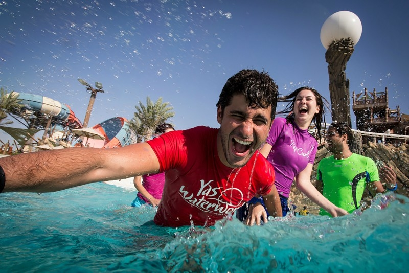 The array of summer activities to choose from in Centro's online competition includes a Yas Waterworld outing.