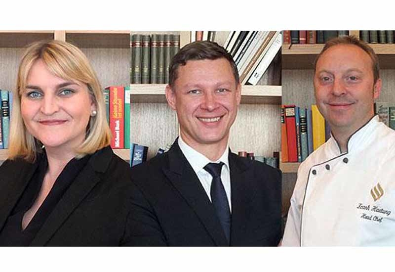 (L-R): Nicole Kienzler, Thomas Rettig and Frank Hartung.