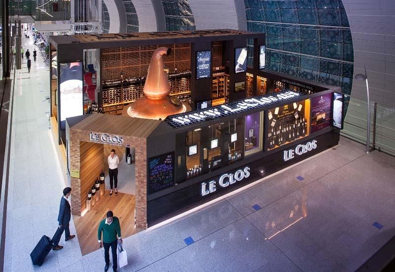Le Clos flagship store at Dubai International Airport