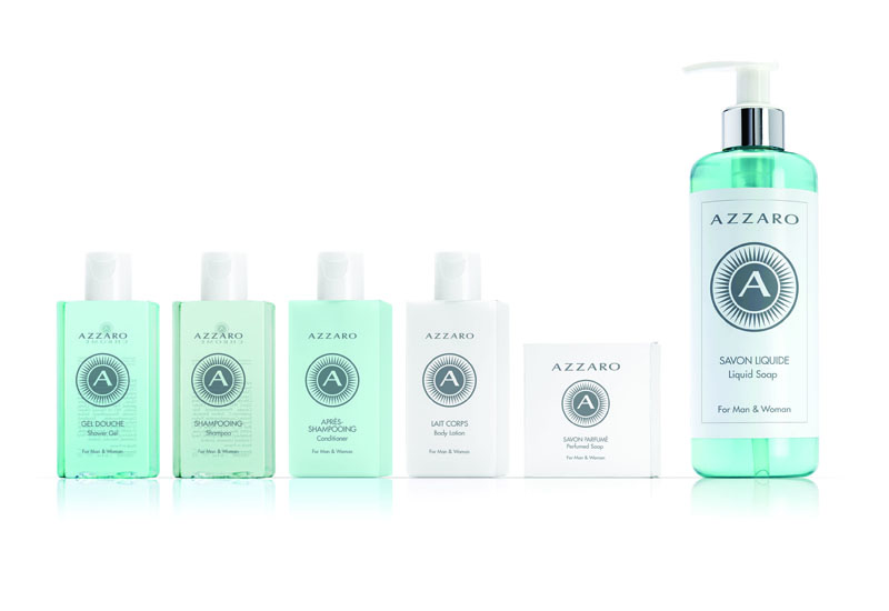 Azzaro collection.