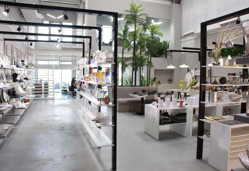 MG Showroom in Dubai