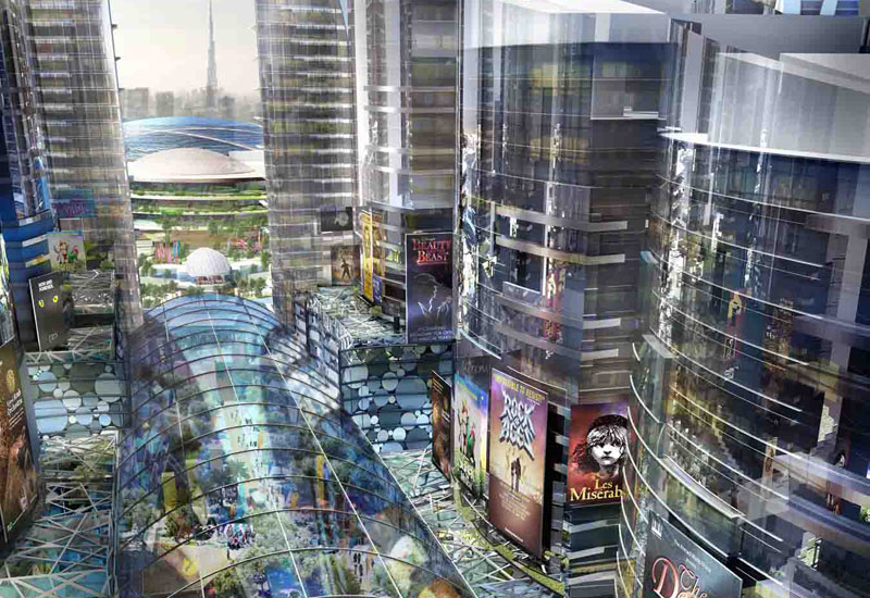 Mall of the world is set to feature 20,000 hotel rooms