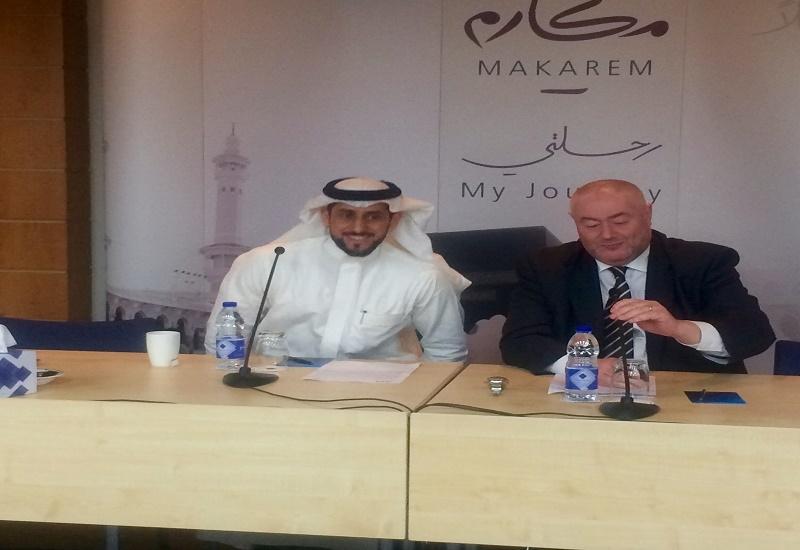 Dr. Badr Al Badr and Dr. Denis Sorin of Dur Hospitality