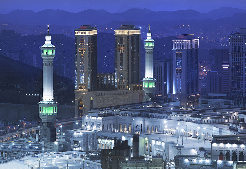 The 438-room Conrad Makkah Hotel and Convention Centre.