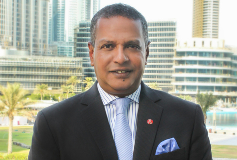 Ramada Downtown Dubai general manager Mark Fernando.