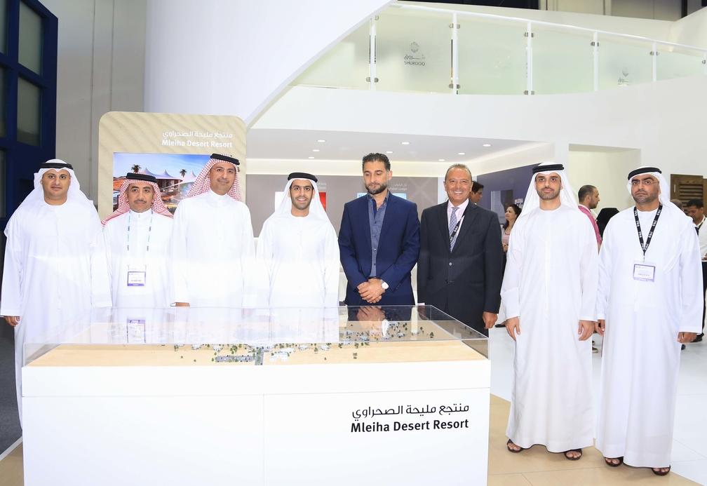 Shurooq and Al Wanis sign MoU for Mleiha Desert Resort .