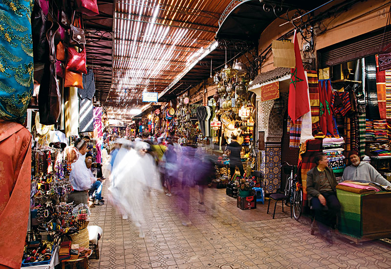 The Vision 2020 programme aims to increase the number of tourists visiting Morocco.