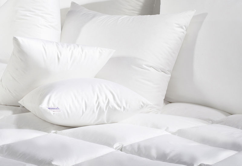Mühldorfer's pillows are in high demand by hotel guests.