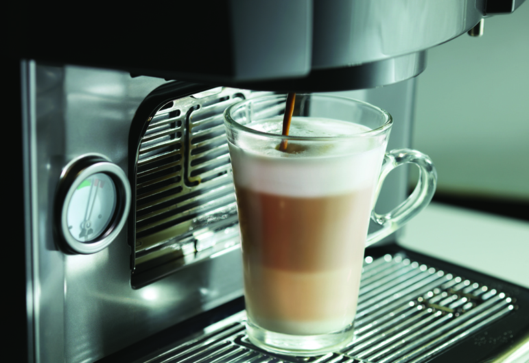 The Nescafe Milano 2.0 can produce up to 27 beverages, including lattes.