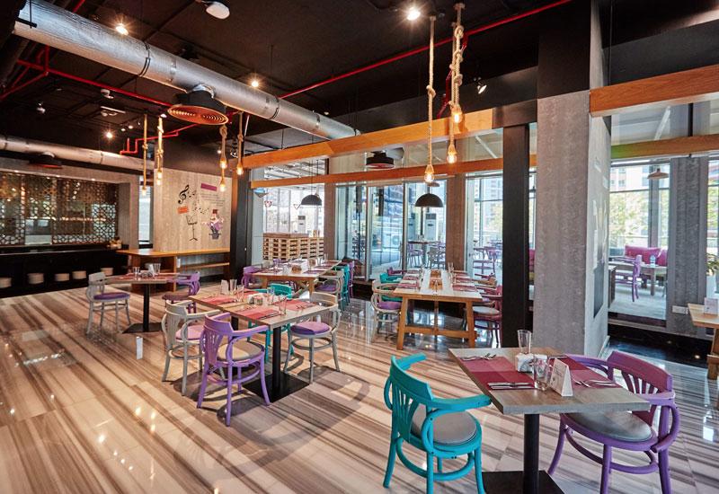 Somewhere Hotel Basrha Heights' Nay restaurant.
