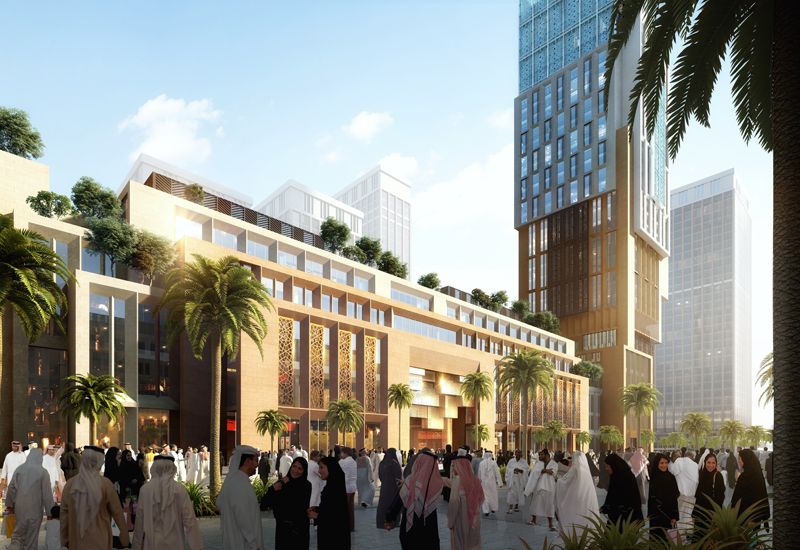 The new hotel rendering.
