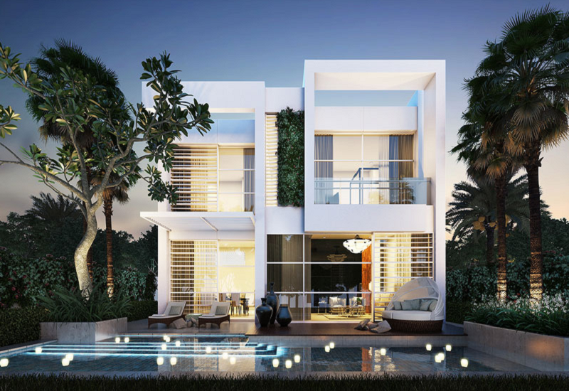The new villas