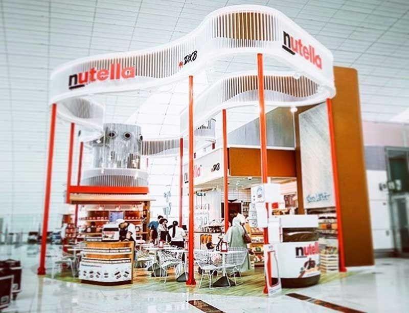 Restaurants, Ferrero, Nutella Cafe, Dubai, Dubai international airport