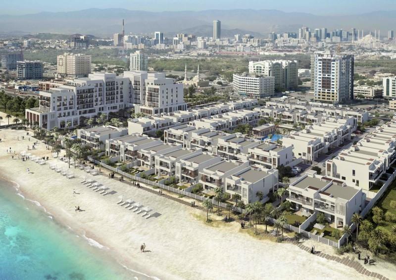 Eagle Hills Fujairah Beach.