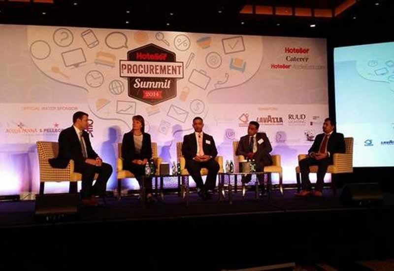 The first panel discussion of Hotelier Middle East Procurement Summit 2014.