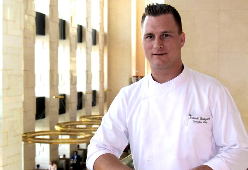 Patrick Buttgereit, executive chef, Shangri-La Hotel, Dubai