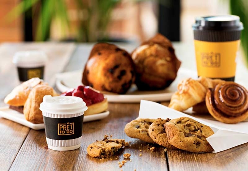 Pret To Go will offer food for the busy consumer.