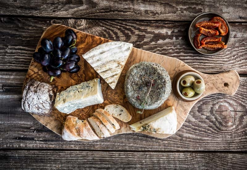 Provedore has a cheese and chacuterie counter