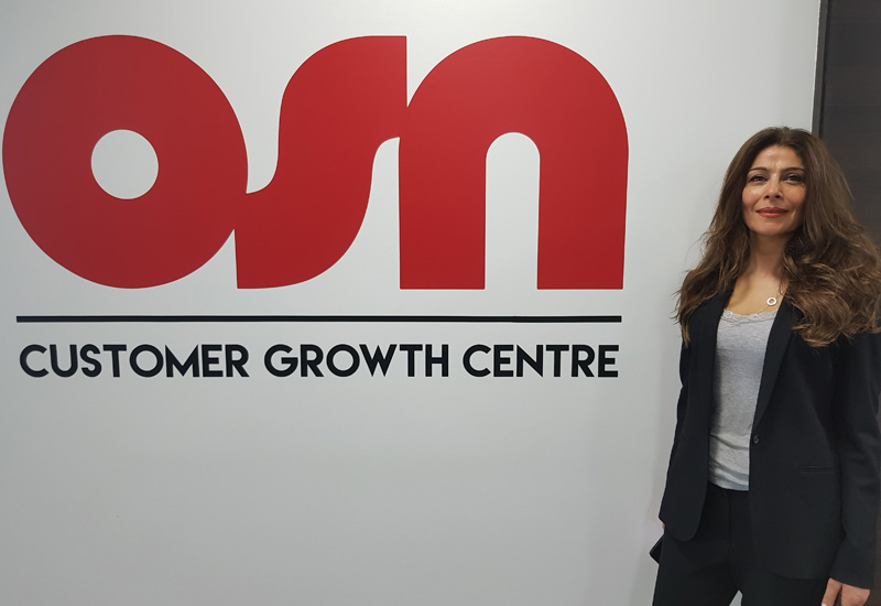 OSN commercial sales director Raeda Al Ahmar.