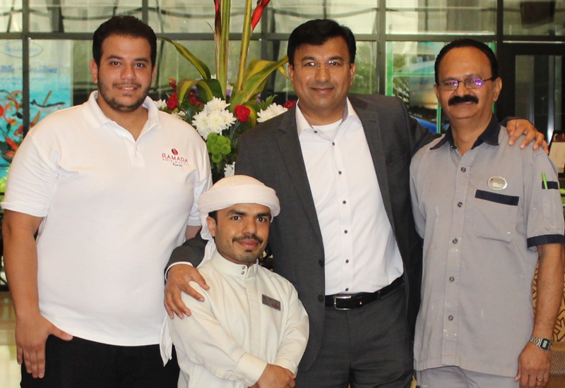 Ramada Ajman trains and hires people of determination for its staff.