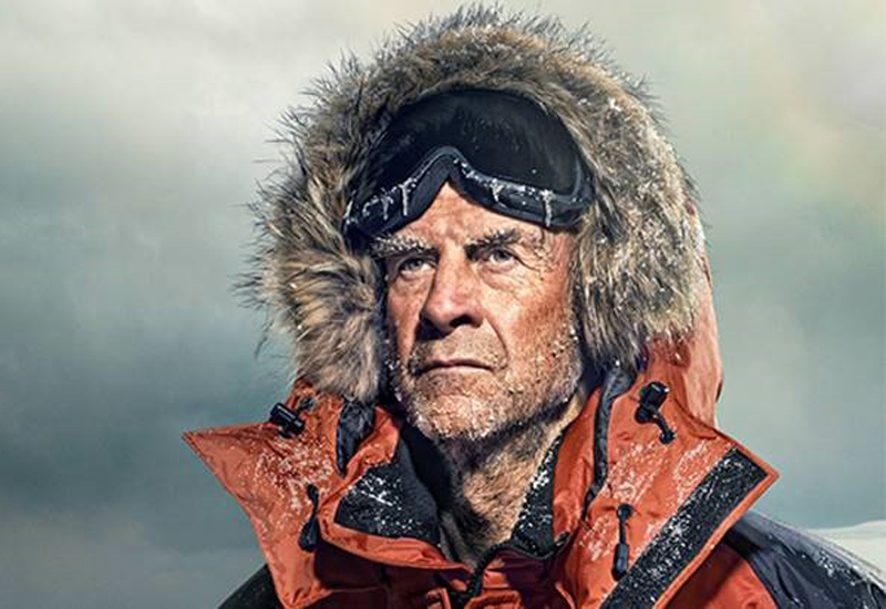 Sir Ranulph Fiennes.