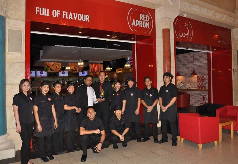 The team from Red Apron