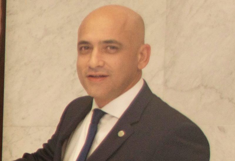 Reda Zerrouk, hotel manager, Pullman Dubai Creek City Centre.