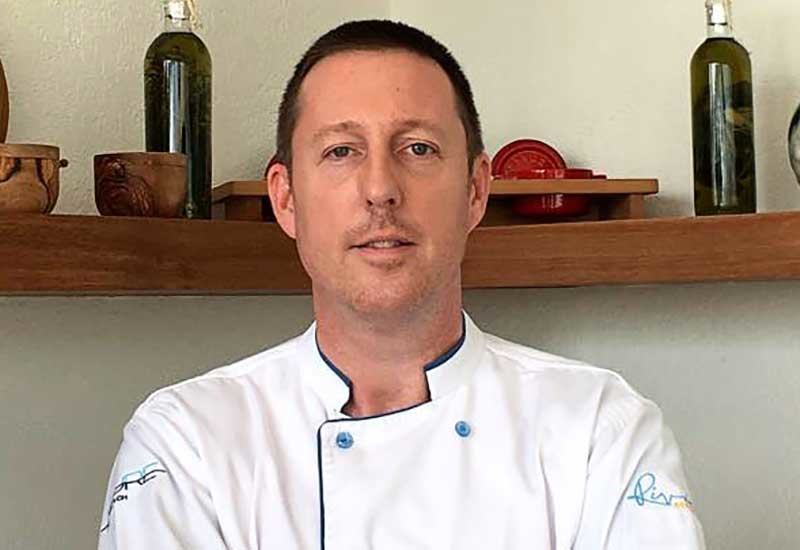 Executive chef, Richard John Barrett