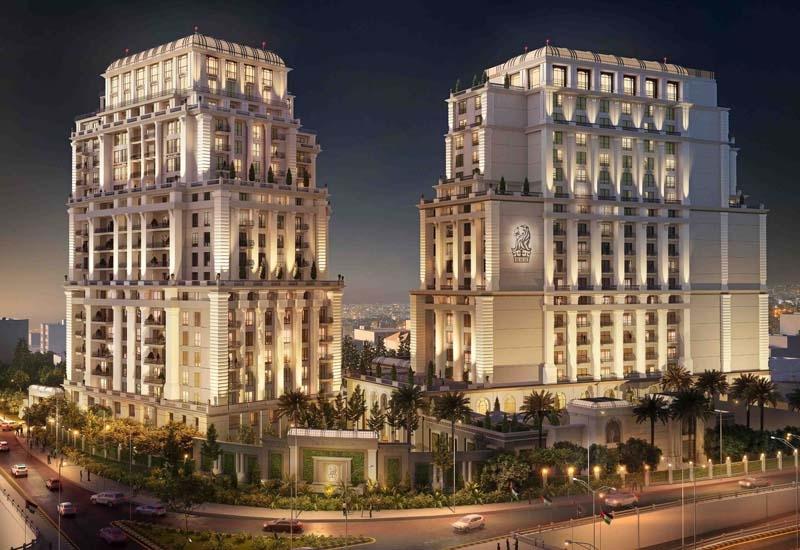A rendering of The Ritz-Carlton Amman.