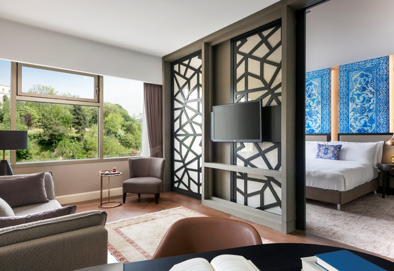 The Park Suite in The Ritz-Carlton Istanbul.