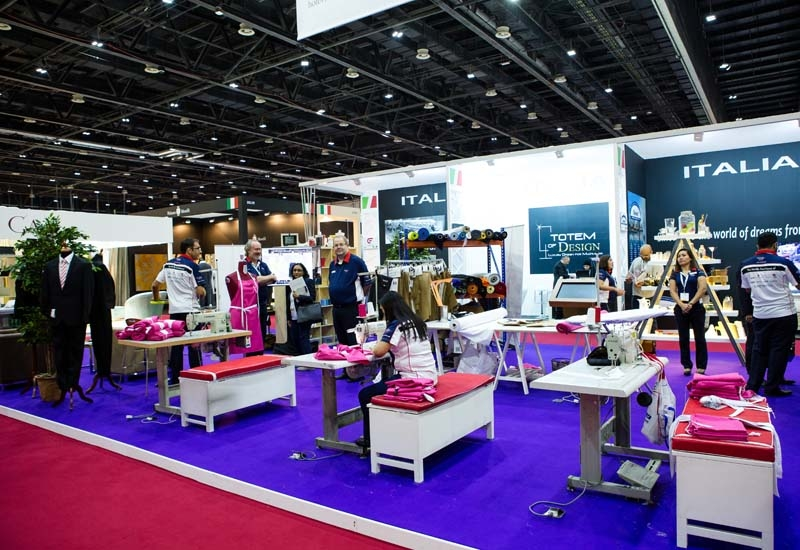 A. Ronai's stand at The Hotel Show.