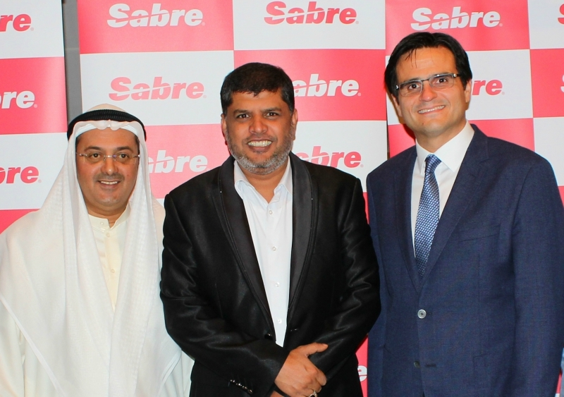 (left to right) Fuad Alsharedah, Dr. Hyder Ali and Ramzi Al Qassab.