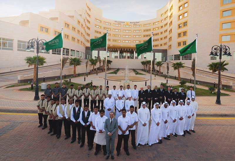 Millennium Hotel Hail has employed Saudi nationals in hospitality roles across all functions, from housekeeping and concierge, to sales, marketing and HR.