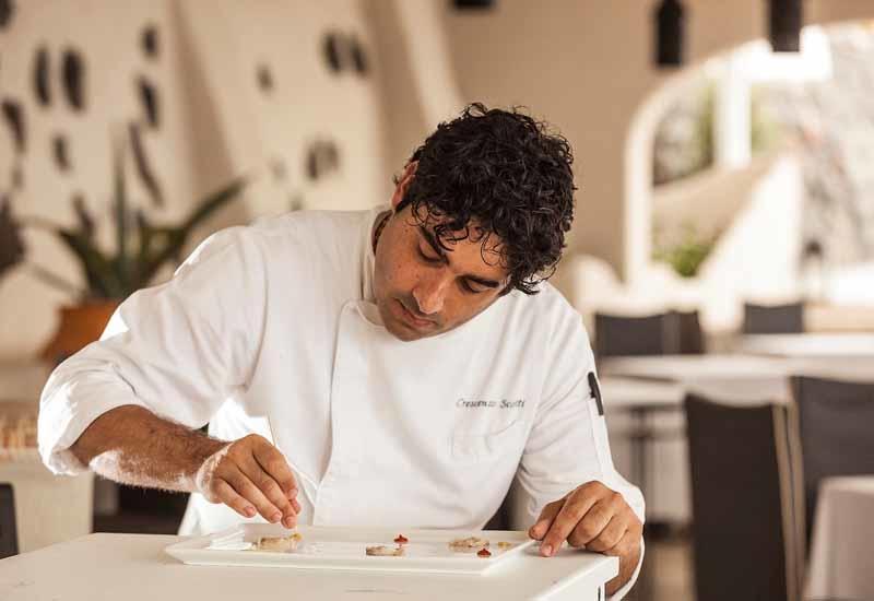 Michelin starred chef Scotti Crescenzo.