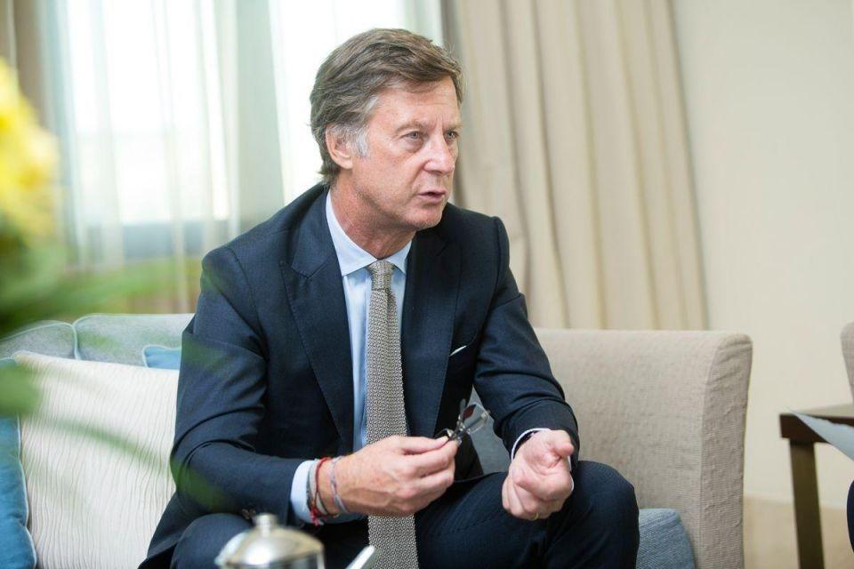 Sebastien Bazin, CEO of AccorHotels.