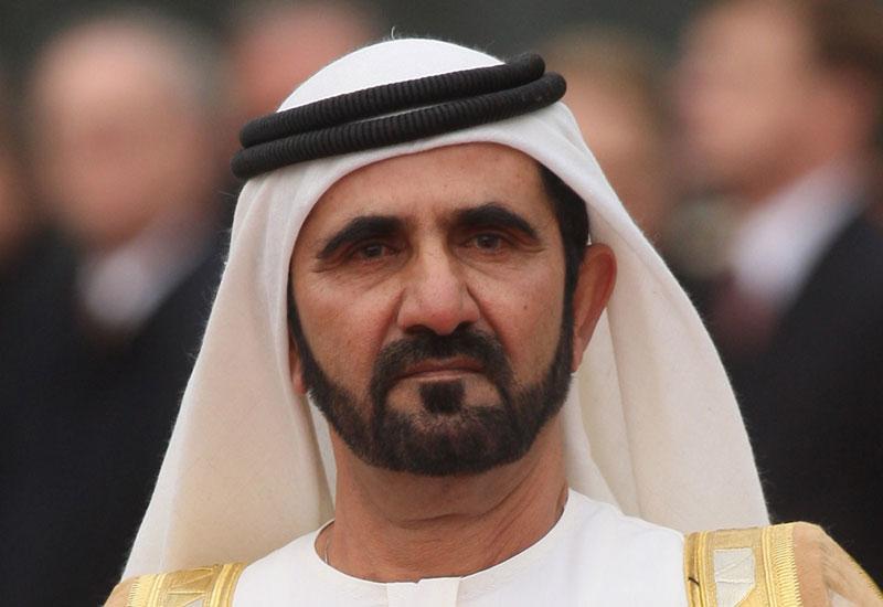 His Highness Sheikh Mohammed bin Rashid Al Maktoum  Vice President and Prime Minister of the UAE and Ruler of Dubai