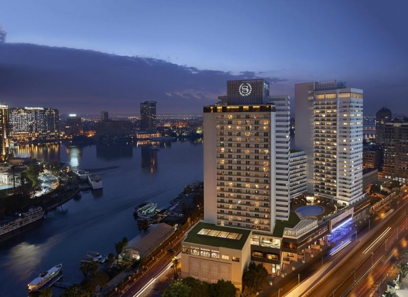 Sheraton Cairo Hotel and Casino.