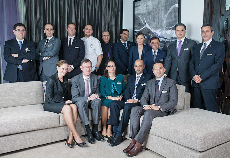 More than 90% of the executive team at Sheraton Grand Hotel, Dubai was hired from within Starwood.