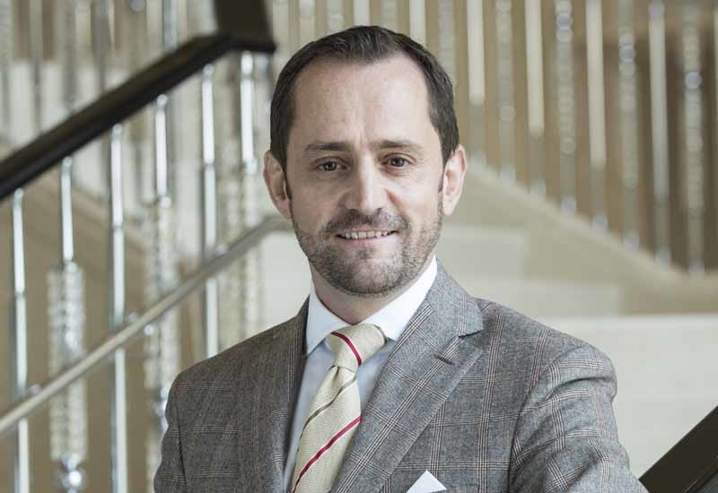 Simon Casson, Four Seasons regional vice president and general manager of Four Seasons Dubai Jumeirah Beach.