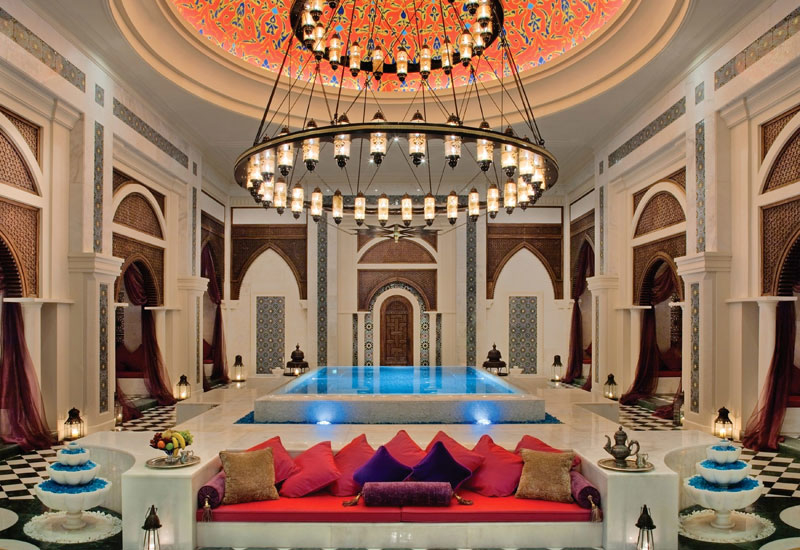 Jumeirah Zabeel Saray Talise spa.
