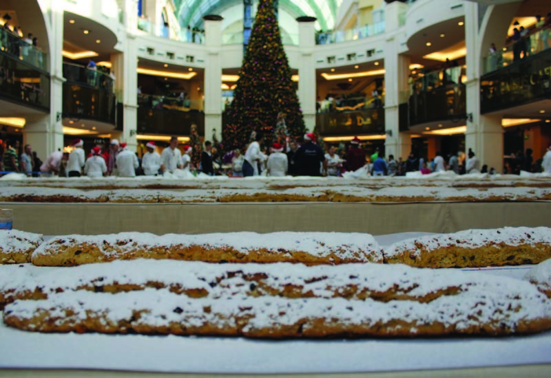 Proceeds from the stollen sale will go to charity.