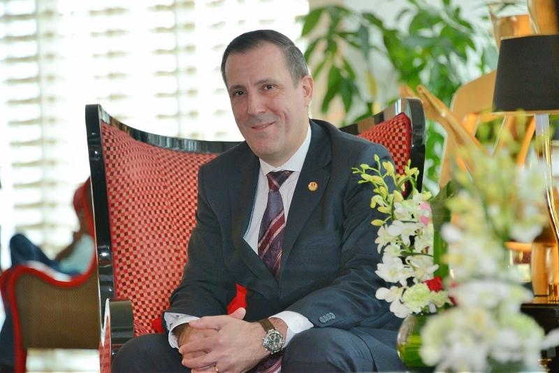 Swiss-Belhotel International area general manager for Bahrain Herve Peyre.