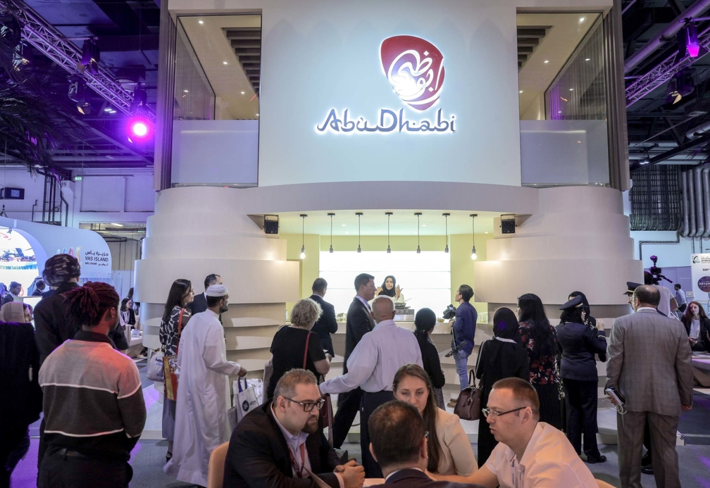 TCA Abu Dhabi booth at ATM 2017.