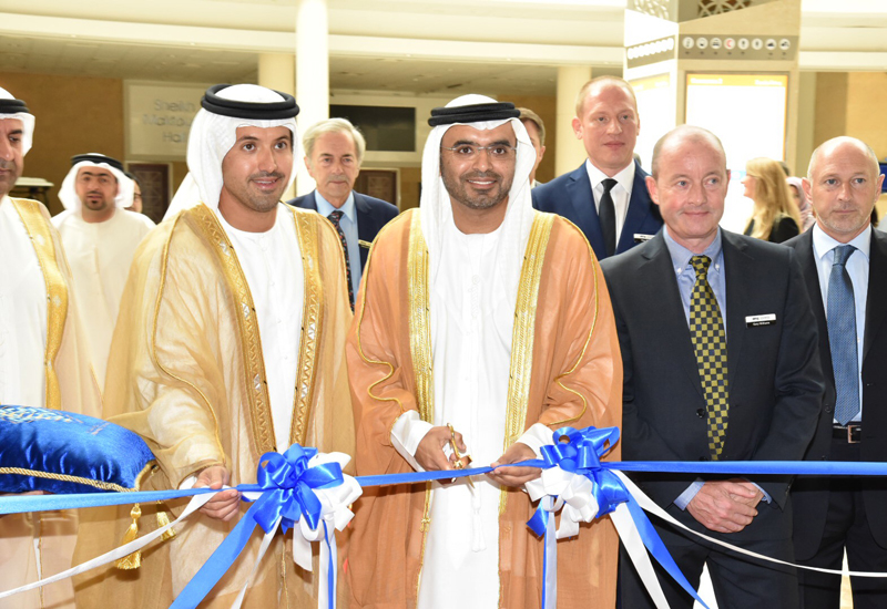 His Excellency Majid Saif Al Ghurair, chairman, Dubai Chamber of Commerce and Industry opens The Hotel Show and The Leisure Show