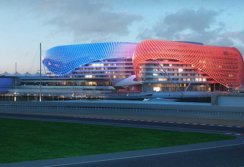 The Yas Viceroy in Abu Dhabi.