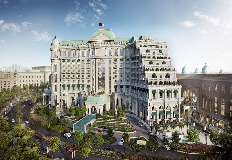 The Luxury Collection hotel Lusail.