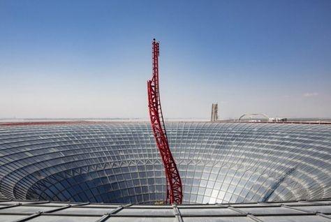 Turbo Track at Ferrari World Abu Dhabi.
