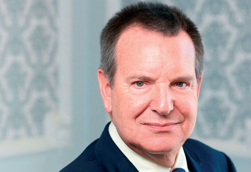 Ulrich Eckhardt had been general manager of Kempinski Hotel Ajman since it opened in 1998