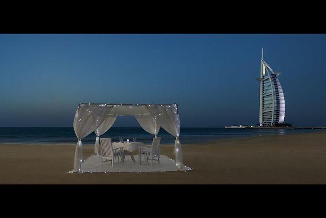 Al Qasr Romantic Beach.