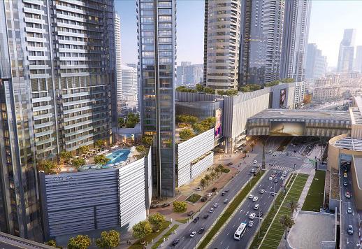 Vida Dubai Mall.